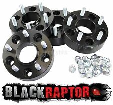 Black Raptor 40mm Aluminium Land Rover Discovery 2 TD5 and V8 Wheel Spacers