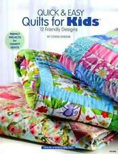 QUICK & EASY QUILTS FOR KIDS QUILTING BOOK, 12 Friendly Designs From Annie's NEW