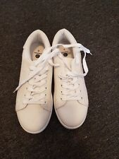 White Ladies Sneakers Sz 8 NEW