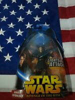 Star Wars Revenge of the Sith ROTS Anakin Skywalker Action Figure #2 MOC 2005