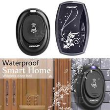 100M Waterproof Doorbell 36 Songs Wireless Receiver Remote Control Door Bell