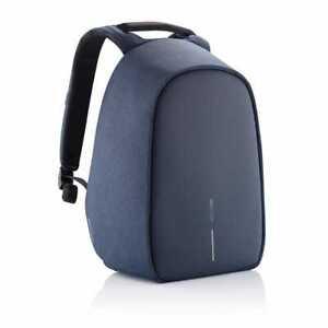 XD Design Bobby Hero Regular Anti Theft Travel Laptop Backpack w/ USB Port, Blue