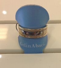 Gelin Abaci 14K Yellow Gold 7mm Twisted Detail Band Size 10