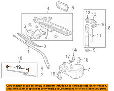 LAND ROVER OEM Discovery Wiper Washer-Windshield-Nozzle Spray Jet DNJ500090