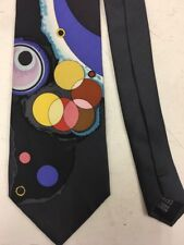 Guggenheim Museum 100% Silk Multi Colored Tie Jl100417