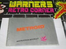 Metroid   Nintendo nes Video game Manual only retro  official