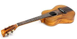 Alulu Solid Acacia Koa Classical Head Tenor Ukulele with Hard Case BU605