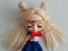 Sailor Moon Ooak custom doll Blythe Künstlerpuppe, inclusive Outfit, und wig