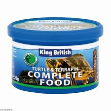 King British Turtle And Terrapin Complete Balanced Food With Krill 20g