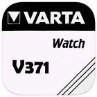 3x VARTA V 371 Knopfzellen Uhrenbatterie Knopfzelle V371 SR69 SR920SW SR920 AG6