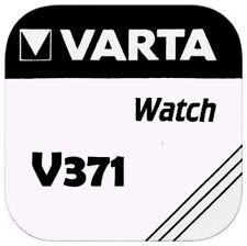 1x VARTA V 371 Knopfzellen Uhrenbatterie Knopfzelle V371 SR69 SR920SW SR920 AG6