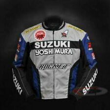 Suzuki Motorbike Motorcycle Jacket Waterproof CE Armours Cordura Textile Jacket