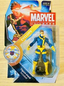 "Marvel Universe 3.75"" CYCLOPS 2010 Series 3 #010 VHTF X-MEN"