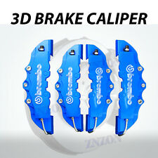 New 4pcs Blue 3D Disc Brake Caliper Cover Kit Car Truck Parts For Ford Focus