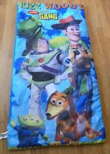 Disney Toy Story Childrens Sleeping Bag Buzz Woody Rex Child Blue Movie