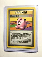 CLEFAIRY DOLL - Base Set - 70/102 - Rare Trainer - Pokemon Card - Unlimited - NM