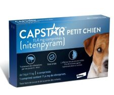 CAPSTAR Blue 6 Tablets for Small Dogs 2-25 lbs NEW VERSION - FREE SHIPPING