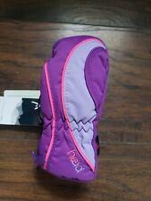 NEW! HEAD Jr Ski Mittens Kids Sorona Zip Thermal Waterproof Snow Gloves XXS - S