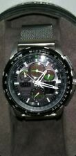Citizens U680-5106061 Skyhawk A-T  Eco-Drive working great rare lime grn.