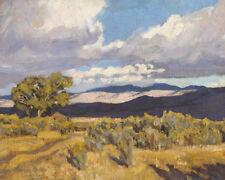 "Storm Shadows on Coso Range by Maynard Dixon  14""  Paper Print Repro"