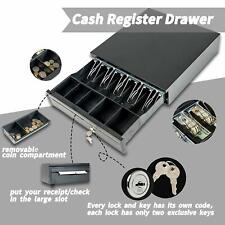 16'' Money Box 5 Bill 5 Coin Cash Register Drawer Tray Epson/Star POS Machine