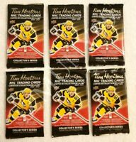 2020-21 TIM HORTONS UD 6 SEALED HOCKEY CARD PACKS LOT Mcdavid Matthews Crosby ?