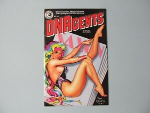 DNAgents 24, Eclipse Comics, Dave Stevens Cover