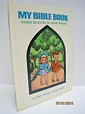 My Bible Book: a Vintage Publication by Rand Mcnally & Company