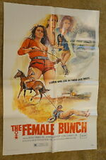 FEMALE BUNCH  SEXY BAD GIRLS  ONE SHEET 1971