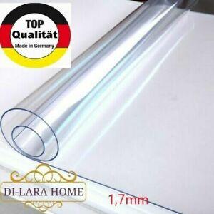 PVC Tischfolie, Tischschutz ,Schutzfolie Tischdecke 2,0mm transparent