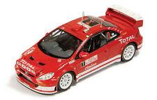 Peugeot 307 WRC Rally Monte Carlo 2005 1/43 RAM170 Ixo Models