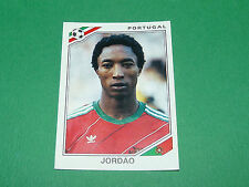 N°398 JORDÃO PORTUGAL PANINI FOOTBALL COUPE MONDE 1986 MEXICO WM 86