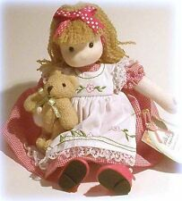 Handcrafted Musical Storybook Doll, GOLDILOCKS & Three Bears, Brahms' Lullaby