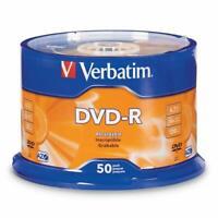 DVerbatim DVD-R 4.7GB 16x AZO Recordable Media Disc - 50 Disc Spindle