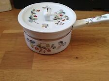 REDUCED Royal Worcester Ceramic Pan, Strawberry Fayre Pattern .