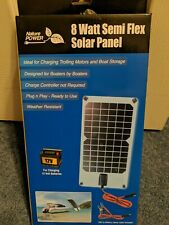 Nature Power 8watt Semi Flex Solar Panel