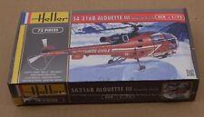 Heller 80289 1:72 SA316B Alouette III Sécurité Civile