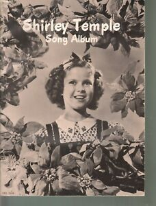 Shirley Temple Song Album Ten Songs Five Pages Pictures Sheet Music