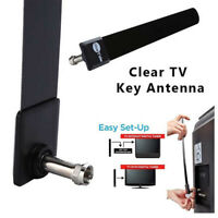 Clear Key HDTV Digital Indoor Antenna Ditch Cable FREE Enhance TV Signal Channel