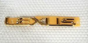 FITS New Lexus SC430 Emblem Rear Trunk Word 24K Gold 02 03 04 05 06 07 08 09 10