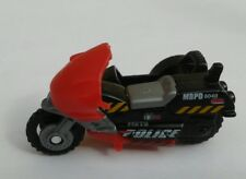 MATCHBOX POLICE BLACK CYCLE WITH SIDECAR 2001