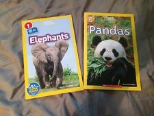 National Geographic Kids Animal Books (lot of 2)