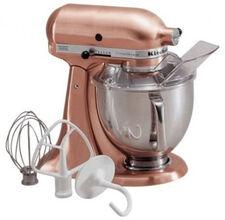 KitchenAid ksm152pscp All Brushed Metal Copper Tilt Artisan Tilting Stand Mixer
