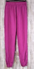 Vintage Wilson Women's Pink Windbreaker Pants Size Medium