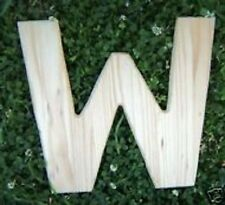 Letter W plastic mold alphabet casting mould plaster cement resin