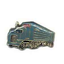 Wholesale Lot of 12 Semi Truck Blue Lapel Hat Pins Tie Tac 18 Wheeler FAST SHIP