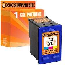 1x Ink cartridge XL for HP22 Deskjet D1560 F2180 F2280 F380 F370 PSC 1410 1415