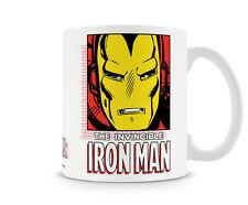 The Invincible Iron Man Kaffee Becher Coffee Mug Tasse Marvel Classic Comics