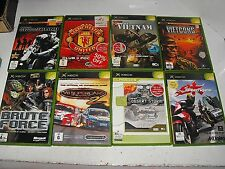 V8 Supercars-Vietcong-Speed Kings-Conflict Vietham 8 Great Xbox Original Games