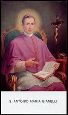 "santino-holy card""S.ANTONIO M. GIANELLI"